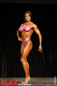 Carrie Simmons - Womens Fitness - Toronto Pro 2011