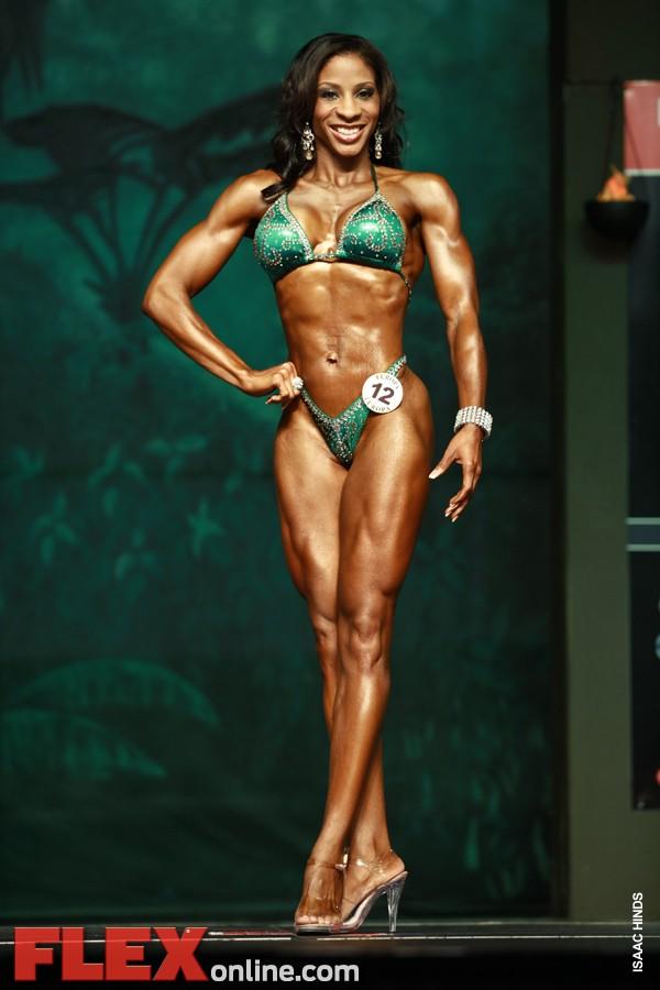 Charmayne Jackson - Womens Figure - Europa Super Show 2011