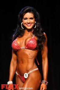 Jennifer Andrews - Womens Bikini - 2011 Iowa Pro