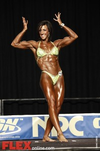 Kelli McCall - Womens Physique - 2012 Junior National