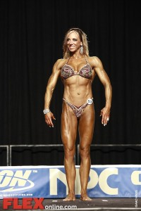 Erika Laine - Womens Physique - 2012 Junior National
