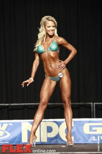 Sandi Forsythe - Womens Bikini - 2012 Junior National