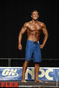 Chad Abner - Mens Physique - 2012 Junior National