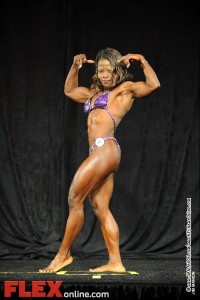 Rosela Joseph - Womens Physique A 35+ - Teen, Collegiate and Masters 2012