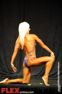 Cindy Goodrich - Womens Physique A 45+ - Teen, Collegiate and Masters 2012