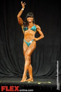 Frances Mendez - Womens Physique B 35+ - Teen, Collegiate and Masters 2012