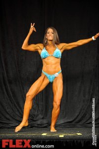 Mica Schneider - Womens Physique B 35+ - Teen, Collegiate and Masters 2012