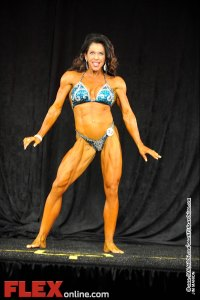 Kendel Dolen - Womens Physique B 35+ - Teen, Collegiate and Masters 2012