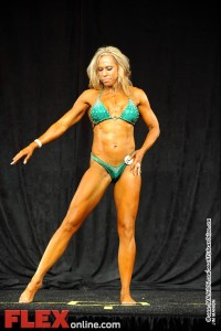 Violet Wilson - Womens Physique C 35+ - Teen, Collegiate and Masters 2012