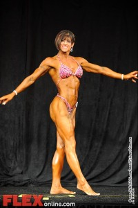Cheryl Cooke - Womens Physiqe B 45+ - Teen, Collegiate and Masters 2012