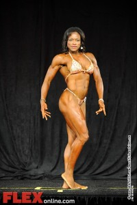 Leonie Rose - Womens Physique C 45+ - Teen, Collegiate and Masters 2012