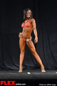 Caryn Paolini - Bikini Class A - 2012 North Americans