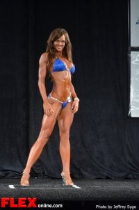 Crystal Green - Bikini Class B - 2012 North Americans