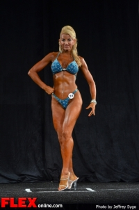 Debbie Sizemore – Fitness Class B - 2012 North Americans