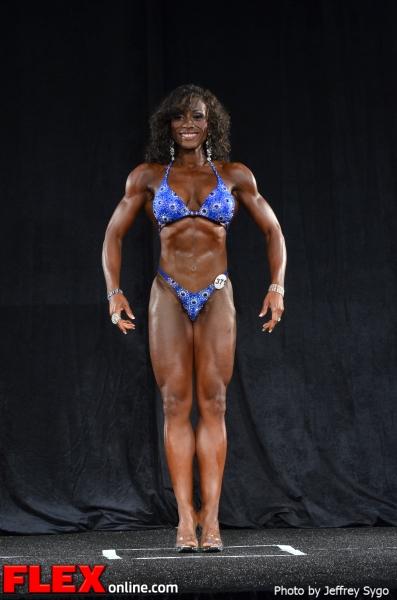 Linda Andrew - Figure Class D - 2012 North Americans
