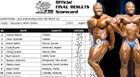 IFBB 2012 Muscle Heat Results - Bryant Wins