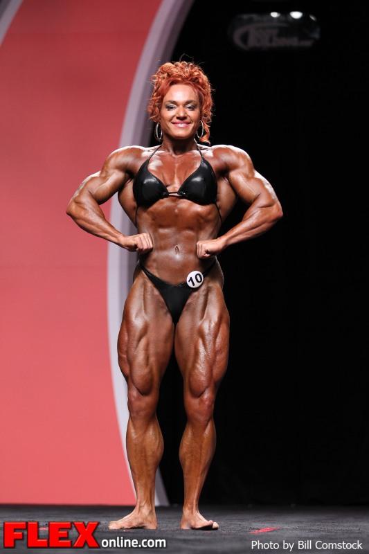 Helle Nielsen - 2012 Ms. Olympia