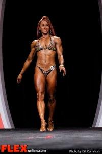 Hollie Stewart - Fitness - 2012 IFBB Olympia