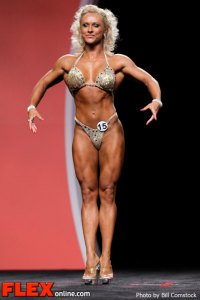 Kizzy Vaines - Fitness - 2012 IFBB Olympia