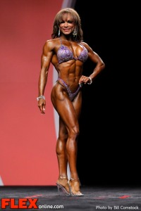 Adela Garcia - Fitness - 2012 IFBB Olympia