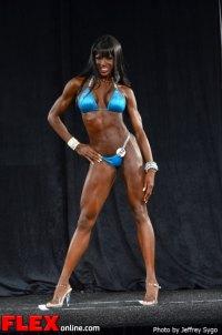 Danielle Carr - Bikini Class D - 2012 North Americans