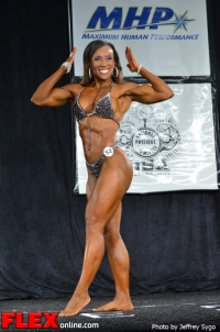 Alicia King - 35+ Women's Physique Class B - 2012 North Americans