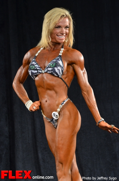 Sheila Mettler - 35+ Women's Physique Class B - 2012 North Americans