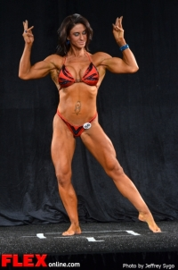 Heather Payne - 35+ Women's Physique Class B - 2012 North Americans