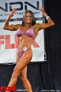 Mica Schneider - 35+ Women's Physique Class B - 2012 North Americans