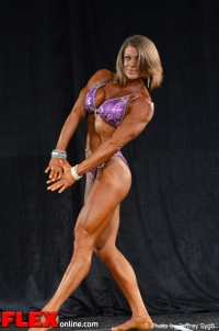 Tracy Weller - 35+ Women's Physique Class B - 2012 North Americans