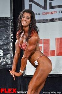 Lisa Horrigan - 35+ Women's Physique Class C - 2012 North Americans