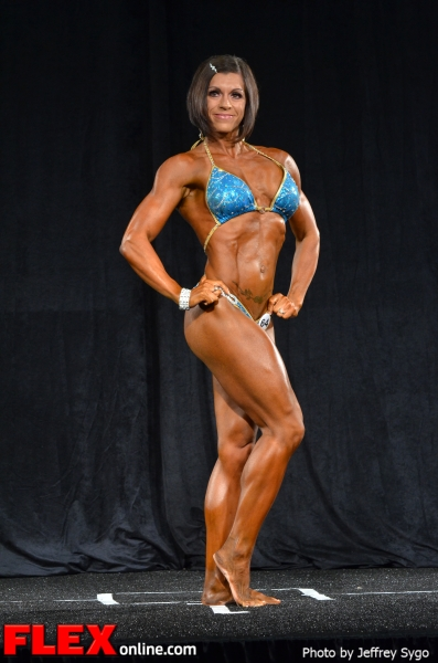 Stephanie Willes - Women's Physique Class B - 2012 North Americans