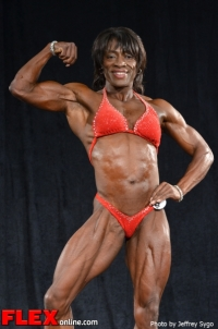 Carol Hanley - BB Middleweight - 2012 North Americans