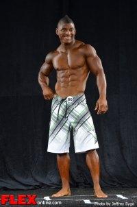 Antonio Baker - Class A Men's Physique - 2012 North Americans