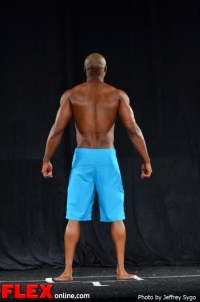 Maurice Williams - Class B Men's Physique - 2012 North Americans
