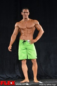 Ani Saliasi - Class B Men's Physique - 2012 North Americans