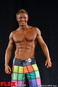 Chad Abner - Class C Men's Physique - 2012 North Americans