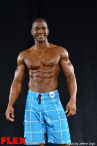 Xavisus Gayden - Class C Men's Physique - 2012 North Americans