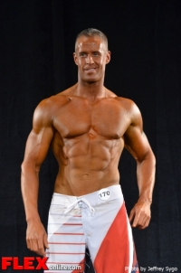 Todd Abrams - Class D Men's Physique - 2012 North Americans