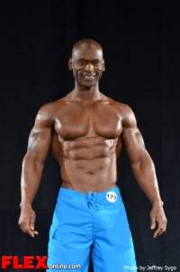 Anthony Brigman - Class D Men's Physique - 2012 North Americans