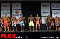 Comparisons - Class 35+ A Men's Physique - 2012 North Americans