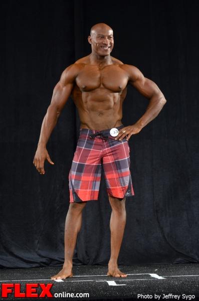 Miguel Frank - Class 35+ B Men's Physique - 2012 North Americans