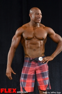 Miguel Frank - Class 35+ B Men's Physique - 2012 North Americans
