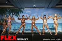 Comparisons - Women's Physique - IFBB Valenti Gold Cup