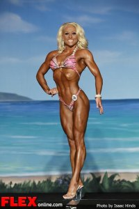 Jacklyn Sutton-Abrams - Fitness - IFBB Valenti Gold Cup