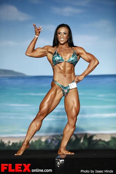 Susan Salazar - Women's Physique - IFBB Valenti Gold Cup