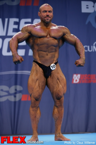 Juri Leonov - 2012 IFBB Nordic Pro Championships