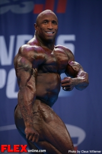 Keith Williams - 2012 IFBB Nordic Pro Championships