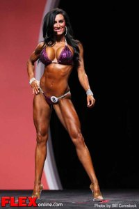 Jennifer Champman - 2012 Bikini Olympia