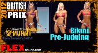 2012 British Grand Prix Bikini Prejudging